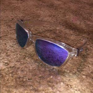 Oakley Jupiter Sunglasses Clear